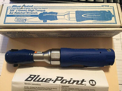 "AT702 Blue Point High Torque 3/8"" Air Ratchet Wrench From Snap On"