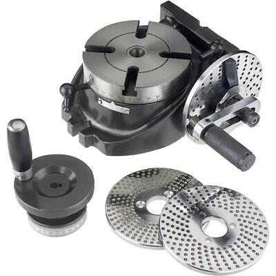 "H5940 Grizzly 4"" Rotary Table w/ Indexing"
