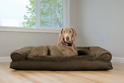 FurHaven Plush & Suede Pillow Sofa Dog Bed Pet Bed