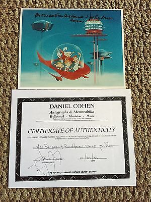 Signed Hannah & Barbera Limited Edition -The Jetsons With Cert. Of Authenticity