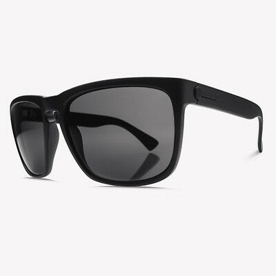 Electric Knoxville XL Sunglasses Matte Black / OHM Grey Lens EE11201020