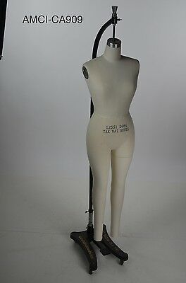 Mannequin Female Dress Form Full Body Hanging Rolling Stand Costume Design 4/6
