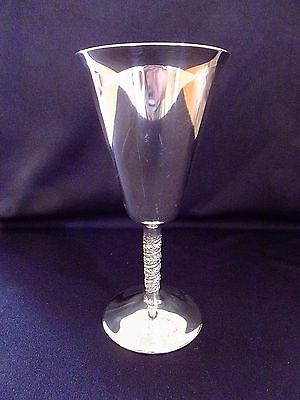 F.B. Rogers Silverplate Goblet from Yugoslavia