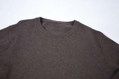 Medium Brown Fred Perry Wool Jumper