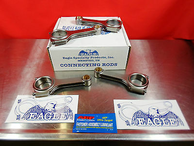 Eagle H Beam Forged 4340 Rod Set HONDA  B20 CRS5394A3D TURBO