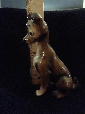 From Disney's Lady and the Tramp -Tramp  Figurine--Made in Japan