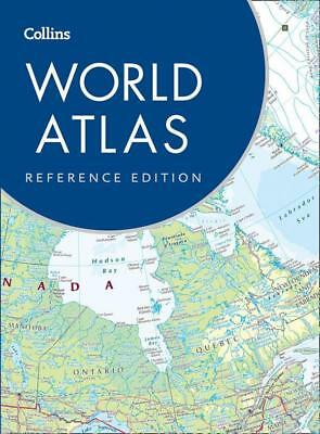 NEW Collins World Atlas By Collins Maps Hardcover Free Shipping