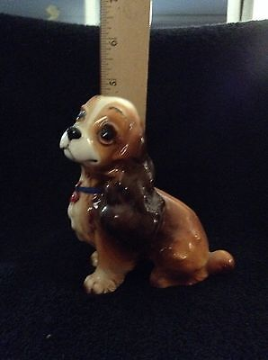 From Disney's Lady and the Tramp - Lady Figurine--Made in Japan
