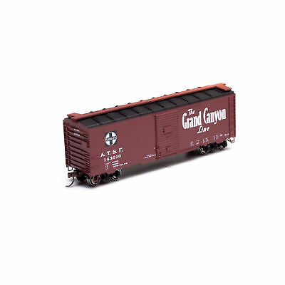HO ATSF Grand Canyon 40' Youngstown Door Boxcar #143510 - Athearn #73507 vmf121