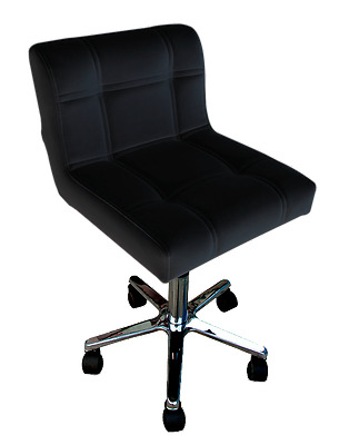 Hydraulic Chair for Salon/Medical Clinic - Black Upholstery