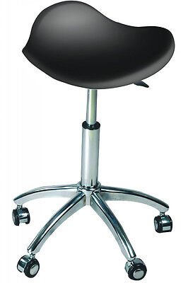 Salon Adjustable Chair/Stool Black - Australian Seller