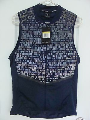 Mens Nike Aeroloft Flash Running Vest Goose Down Blue 800501 410 Size S~2Xl
