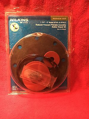 New sealed package, Backflow repair kit Wilkins 1 1/4 - 2 inch 975 FULL New