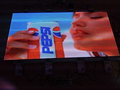 """30""""x60"""" WiFi ZHY1 P8 1/4Duty LED Video Wall Programmable Full Color LED SIGN DIY"""