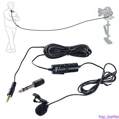 BOYA BY-M1 Lavalier Microphone for iPhone LG HTC HTC DSLR Cam Video Canon Nikon