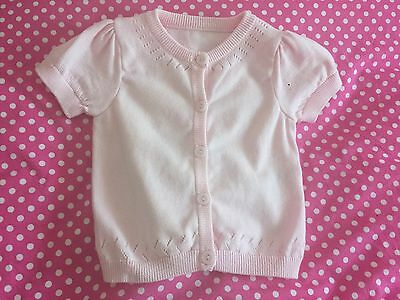 Mother Care Pink Cardigan Size 9-12 Months Bnwot