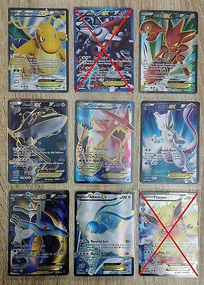 Updated! 8 Pokemon EX Full Art Cards Lot - NM/SP