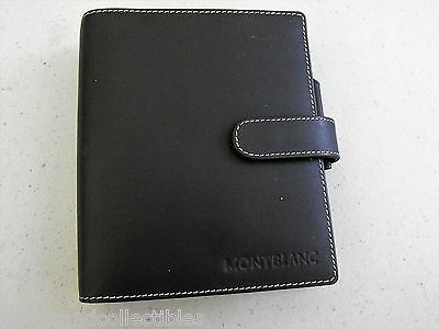 Montblanc Small Organizer 9503 Black Leather Brand New Old Stock No Box