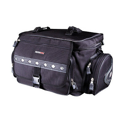 MotoDry 50L Expandable Rear Tail Bag Motorbike Waterproof LMR185