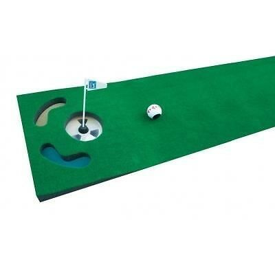 PGA TOUR Tapis de putting + balle
