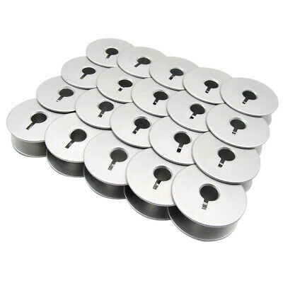 20 fit for GAMMILL TIN LIZZIE PFAFF QUILTER LARGE ALUMINUM BOBBINS WITH HOLES