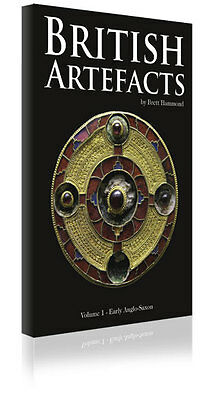Book British Artefacts Vol 1 Nice Gold Pic's Early Anglo Saxon By B. Hammond
