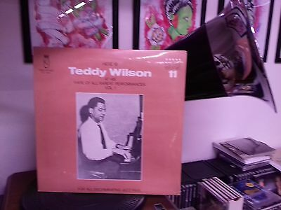 Teddy Wilson At His Rare Of All Rarest Performances Vol 1 Vinile Lp
