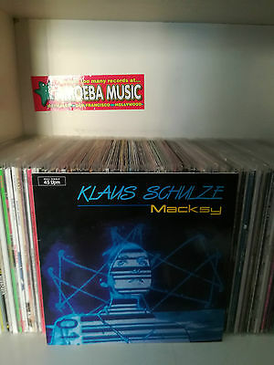 "Klaus Schulze - Macksy 12"" Maxisingle (Brain, Germany 1985)"