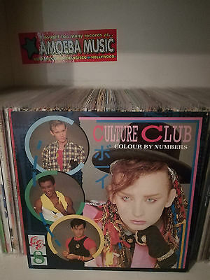 Culture Club - Colour By Numbers Lp (Virgin, Italy 1983)