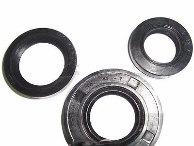 Vespa Oil Seal Kit 3Pcs Small Frame Vespa Pk125 V90 Etc  @aud