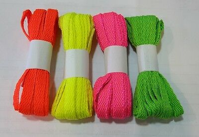 Shoes laces Converse original Lacci colorati Fluo