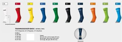 Jako Trainingssocken Basic 3901 Funktionssocke Sportsocken Fußball Handball Neu!