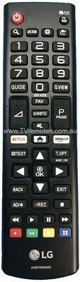 AKB75095303 Genuine Original LG TV Remote Control 43LJ550T 55LJ550T =AKB75095308