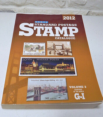 Scott 2012 Standard Postage Stamp Catalogue Countries of the World Vol 3 G-I
