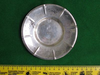 Silver hallmarked  sterling silver tray about 78 gm