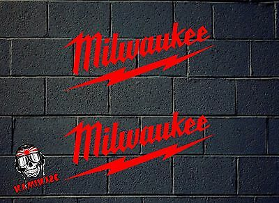 Pegatina Sticker Autocollant Adesivi Aufkleber Decal Milwaukee Tools
