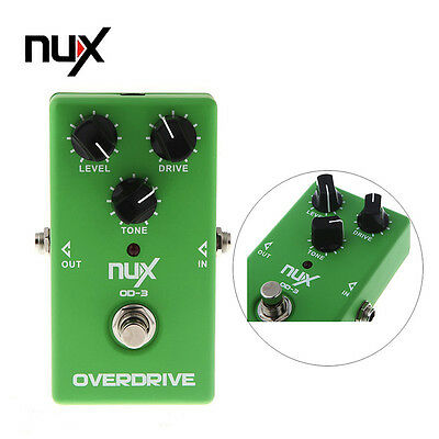 OD-3 Overdrive Guitar Electric Effect Pedal Ture Bypass Fit Electric Bass Guitar
