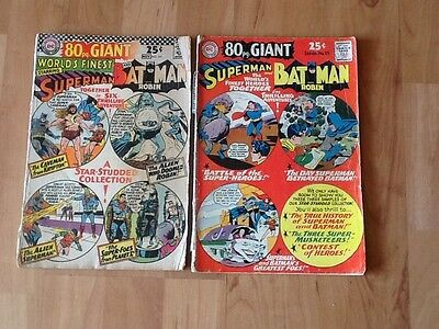 DC 80pg Giant Superman And Batman Comics