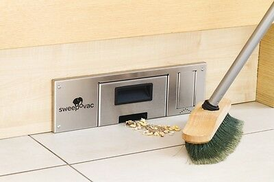 SWEEPOVAC Kitchen Plinth Vacuum Cleaner with Kick Switch & Auto Safety Cut Out