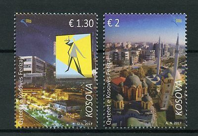 Kosovo 2017 MNH Ferizaj City 2v Set Architecture Tourism Stamps