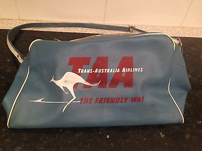 1960's TAA Bag - Original and Rare