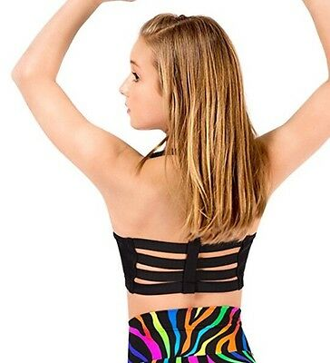 Natalie Dancewear Child Size Medium Halter Bra Top