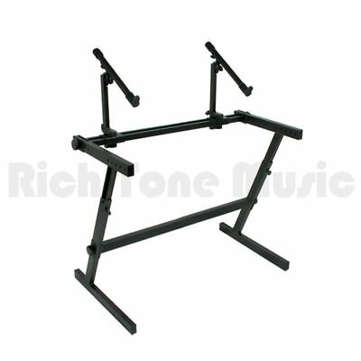 Quiklok Z726L Keyboard Stand - Double Tier