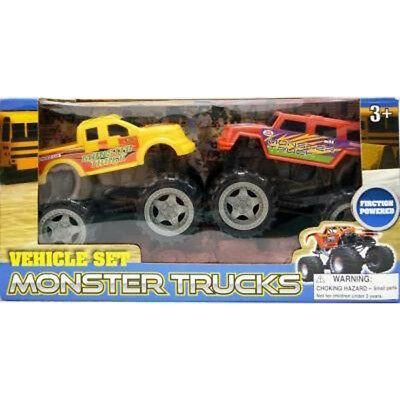 HONG KONG KINGMARK - Friction Power Monster Truck - 2 Toys