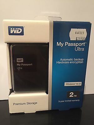 Western Digital My Passport Ultra 2 TB External Hard Drive
