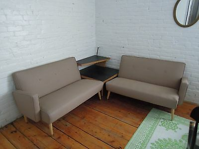 Mid Century Modern Sectional Sofa, Couch