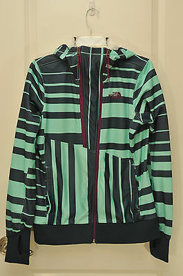 THE NORTH FACE Stynge Womens Double Zip-Up Training Jacket Size M Hooded