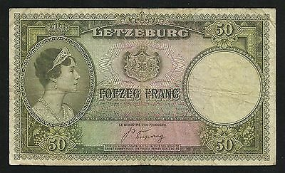 Luxembourg : 50 Francs 1944