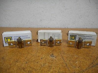 Square D B10.2, B6.25, & B22 Overload Relay Thermal Units Used With Warranty