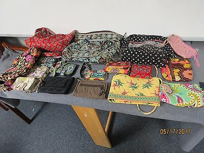 Vera Bradley Purse and Wallet Pre-owned Lot